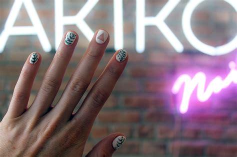 nail nails nyc salons york designs pedis salon akiko mani hannah miles courtesy photograph