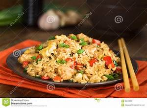 Chinese Fried Rice stock image. Image of asian, lunch ...