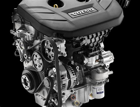 volvo unveils direct injected  turbocharged gtdi engine