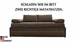 Dauerschlafsofa Mit Matratze : bettsofa liegefl che 180x200cm mein ~ Frokenaadalensverden.com Haus und Dekorationen