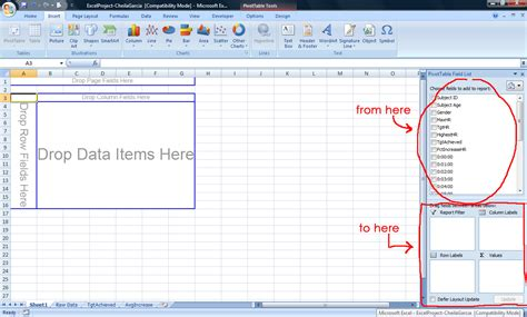 excel pivot table tutorial tutorial on excel pivot tables brokeasshome com