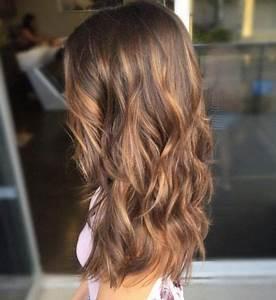 Hellbraune Haare Mit Blonden Strähnen : hellbraun mit dunklen str hnen haare pinterest ~ Frokenaadalensverden.com Haus und Dekorationen
