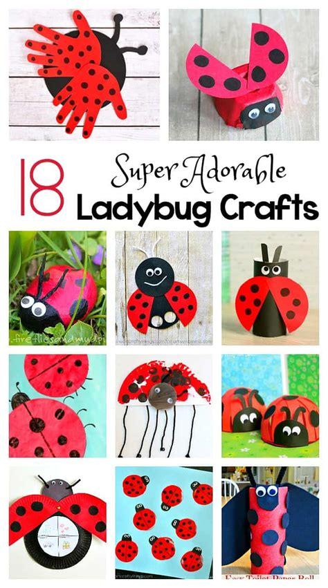 ladybug crafts  kids buggy  buddy