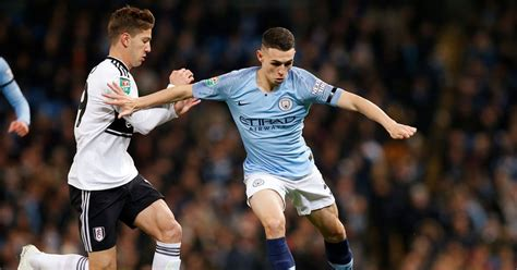 manchester city  fulham  score team news tv