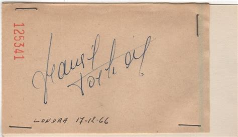 francoise dorleac autograph dorl 201 ac fran 199 oise 1942 1967 french actress rare blue in