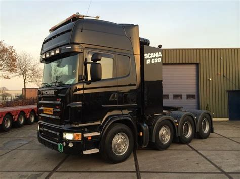 scania r620 la 8x4 hnb heavy haulage tractor tractor unit from netherlands for sale at truck1