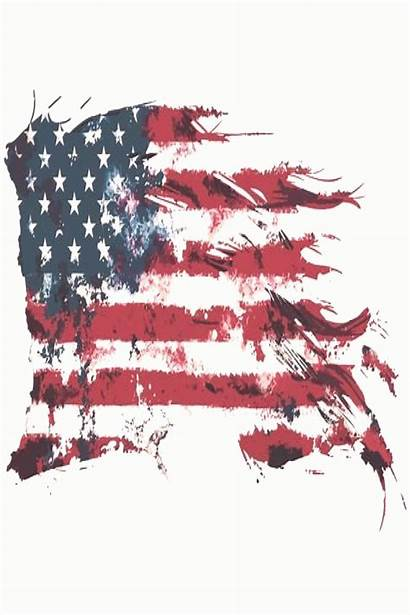 American Flag Distressed 4th Drawing Usa Youpinone
