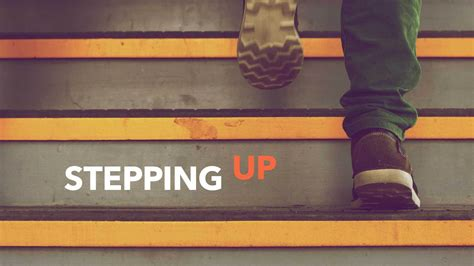 Stepping Up  Arena Church