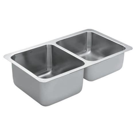 moen stainless steel kitchen sinks moen stainless steel bowl kitchen sink g18242 9286