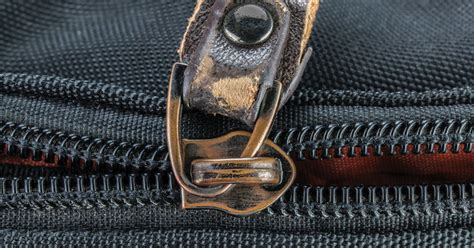 zipper broken fix ways shutterstock