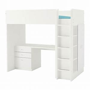 Ikea Stuva Hochbett : stuva fritids letto soppalco 3 cassetti 2 ante bianco bianco ikea ~ Orissabook.com Haus und Dekorationen