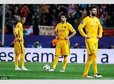 Barcelona's defeat by Atletico Madrid means 23 teams