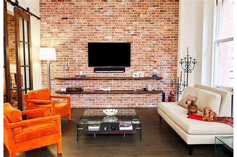 wood brick  refined panache modern industrial wall