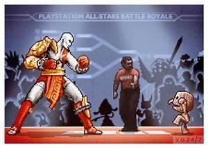 PS All Stars Battle Royale Gets The 8 Bit Art Treatment