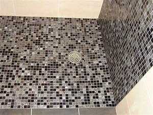 Mosaique Pour Salle De Bain : bac pour douche awesome receveur douche affleurant with ~ Premium-room.com Idées de Décoration