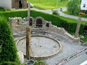 Mauer trockenmauer steinmauer natursteinmauer for Feuerstelle garten mit balkon fenster einbauen