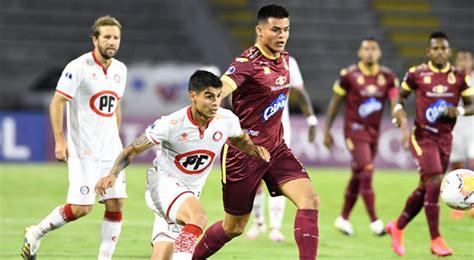 Union La Calera Vs Deportes Tolima : Copa Sudamericana ...