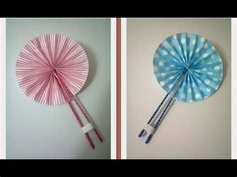 how to make a hand fan paper fans 35 how to s guide patterns