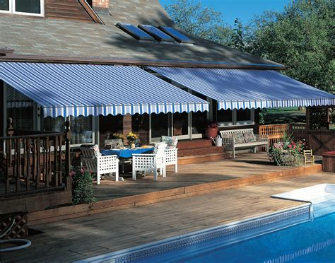 durasol retractable patio awning innovative openings