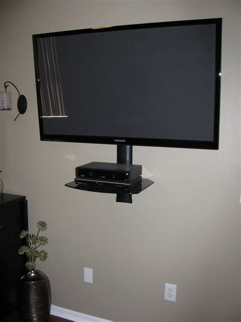 Wall Mount With Shelf by Motion Tv Wall Mount With Cable Box Shelf My Future