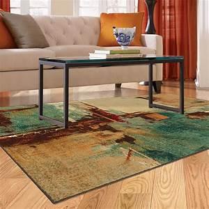 5x8 Contemporary Modern Abstract Aqua Teal Area Rug EBay