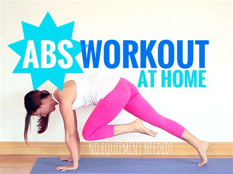 Home Workouts For Abs