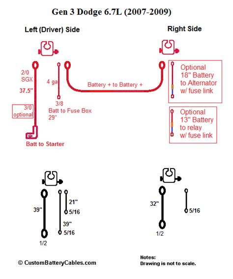 Ground Wiring Diagram 2006 Dodge Ram 2500 Diesel by Dodge Ram 2500 3500 For 2007 2009 3 5 With 6 7l