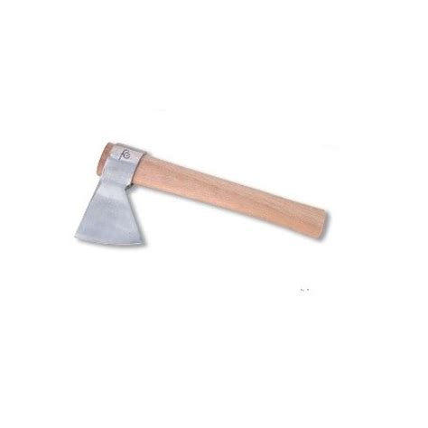 Stainless Steel Butcher Axe 250 Grs  Wood Handle