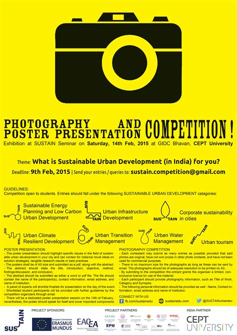 Photography & Poster Design Competition  Event Cept