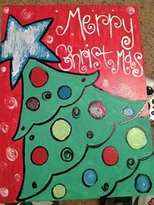 New, Christmas, Painting