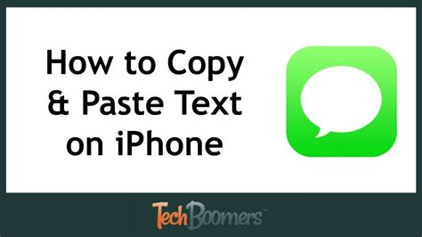 how to copy and paste on iphone 5 how to copy and paste text on iphone youtube How T