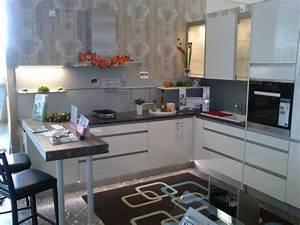 Küche L Form Hochglanz : nobilia musterk che design k che hochglanz magnolia mit granitarbeitsplatte l form ~ Bigdaddyawards.com Haus und Dekorationen