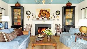 106 living room decorating ideas southern living With kitchen cabinet trends 2018 combined with sci fi wall art