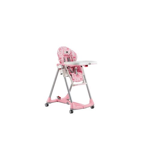 Peg Perego Prima Pappa Diner High Chair by Peg Perego Prima Pappa Diner High Chair 2006 Pink Cube