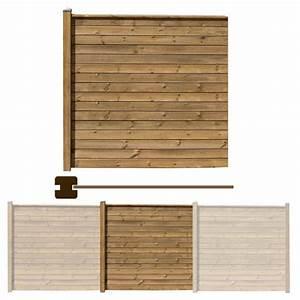 Sonnensegel Pfosten Holz : sichtschutzzaun 180 holz braun ~ Michelbontemps.com Haus und Dekorationen