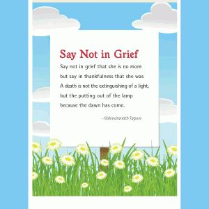 not angka sadness and sorrow say not in grief when a leaves us den