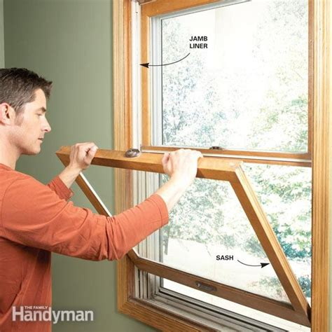 replace window jamb liners  family handyman