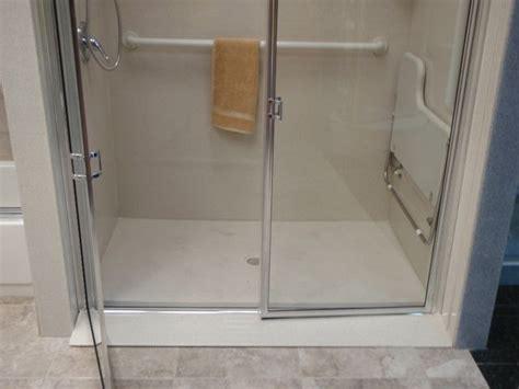 Ada Shower Threshold by Handicap Shower Stalls Size Shower Pinterest Shower