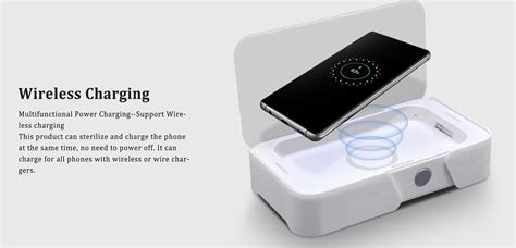 Cell Phone UV Sterilizer Cleaner for iPhone and Samsung