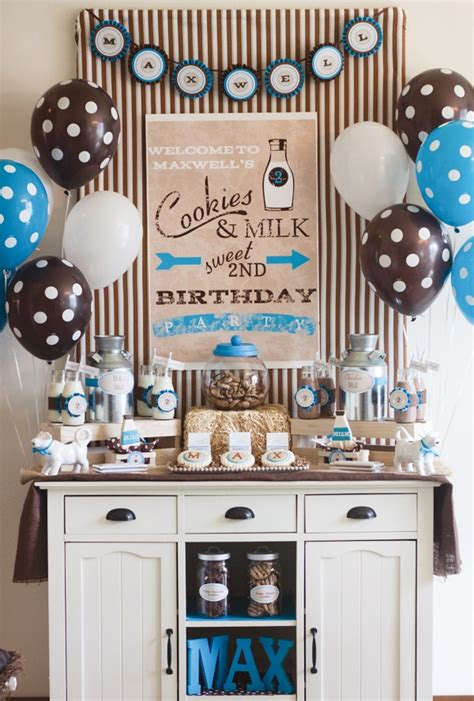 cookies and milk kara 39 s party ideas 10 trucos y o consejos para conseguir una mesa dulce