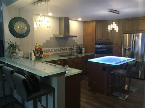 glass top kitchen island glass kitchen island glass innovations cbd glass 3826