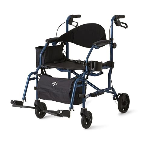 medline transport chair carry bag excel translator combination transport chair rollator
