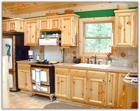 Cabinets Knotty Pine by Refinishing Knotty Pine Kitchen Cabinets Home Design Ideas
