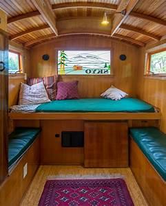 small camper interior design russs gypsy wagon with With small camper interior ideas