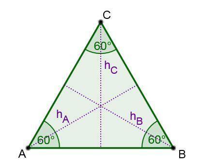 gleichseitiges dreieck lernen mit serlo