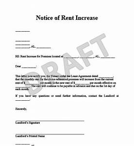 create a rent increase notice in minutes legal templates With rent increase notice template