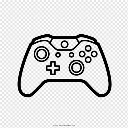 Xbox Controller Coloring Colorear Videojuegos Dibujo Drawing