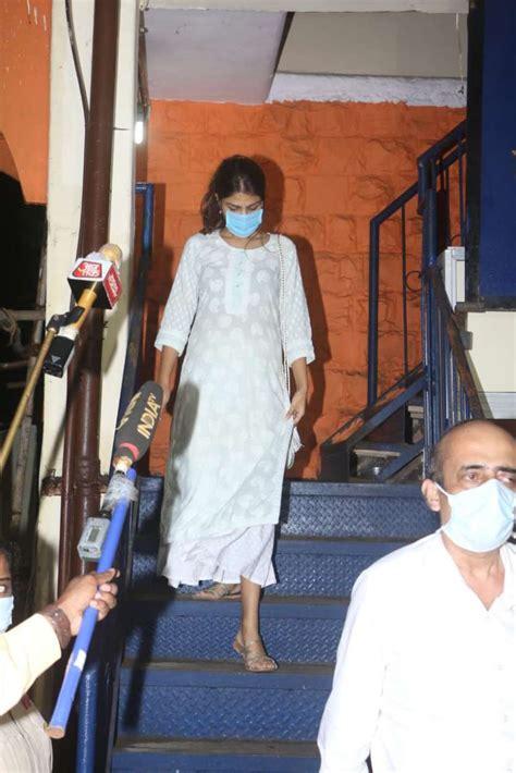 Sushant Singh Rajput case: Rhea Chakraborty leaves Bandra ...