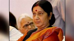 Sushma Swaraj admitted to Delhi's AIIMS after chest pain ...