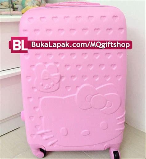Koper Trolley Hello Hotpink jual koper hello 24inch import bagus di lapak